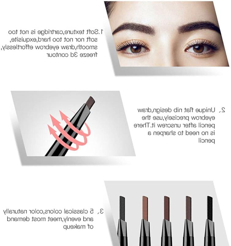 Magical Pencil,Waterproof Brow Count,Cruelty-Free
