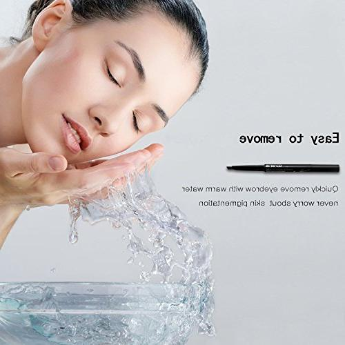 Waterproof Smudgeproof Pencil Liner Free Brow Girls Women