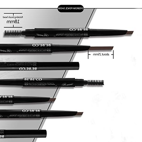Waterproof Smudgeproof Longlasting Pencil Free Sweatproof Drawing Brow with Girls Women Novice