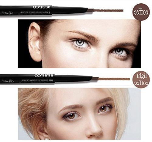 Waterproof Pencil Brow Brow Brush for Girls Novice