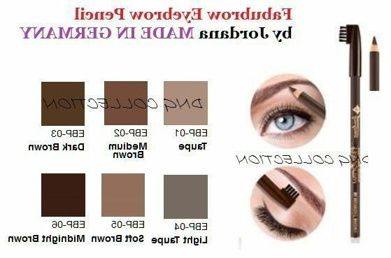 JORDANA Eyebrow Pencil with Brush  MADE IN GERMANY
