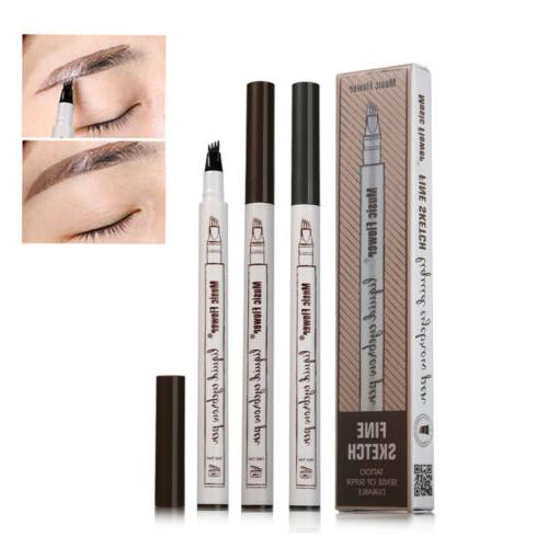 Eyebrow Tattoo Pencil Lasting Patented Fine Sketch Brow