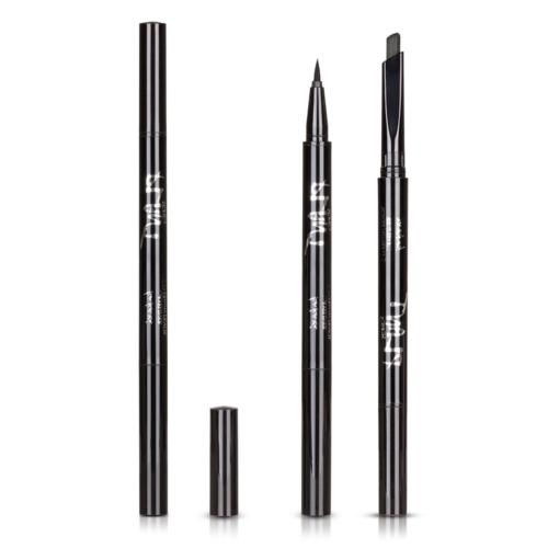 HeyBeauty Eyeliner and Eyebrow Pencil, 2 in 1, Waterproof Au