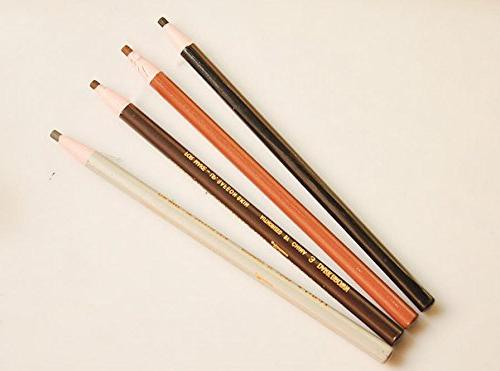 Household 4pcs/1set Eyebrow Pencils Set,Peel-Off Eye Brow Tool-Different Random Color