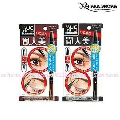 Japan BCL Browlash EX Eyebrow Pencil & Liquid  ~W/Free Gift