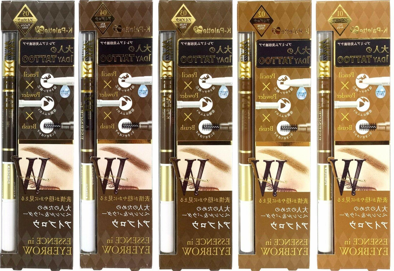 Japan K-Palette 1 Day Tattoo Essence in Eyebrow Pencil, Powd