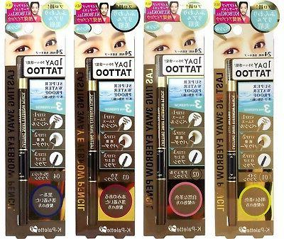 K-Palette 1 Day Tattoo Lasting 3-Way Eyebrow Pencil Eyebrow