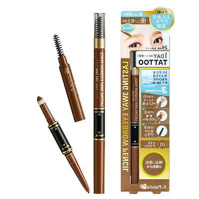 K-Palette Japan 1 Day Tattoo Lasting 3-Way Eyebrow Pencil Ey