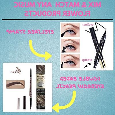 Music liquid pencil with tips brow