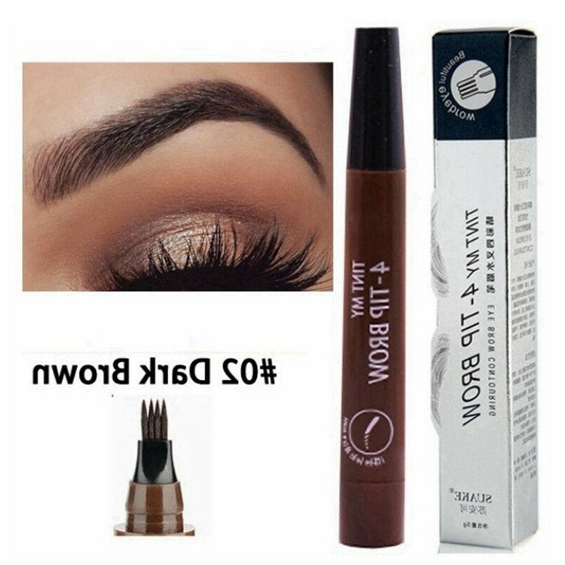 Microblading Eyebrow Pen Waterproof Fork Eyebrow Tattoo