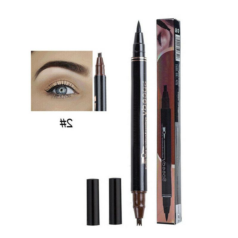 Microblading Tattoo Ink 3 Fork Pen Eye Makeup Pencil 3Colors