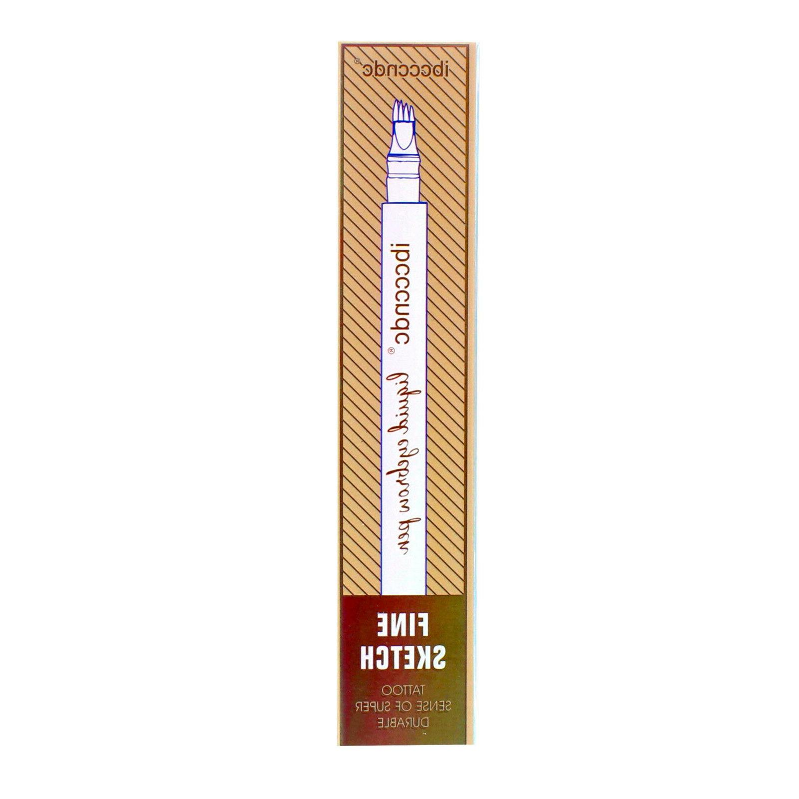 Microblading Tattoo Ink Fork Tip Pen Eye Brow 4D Pencil