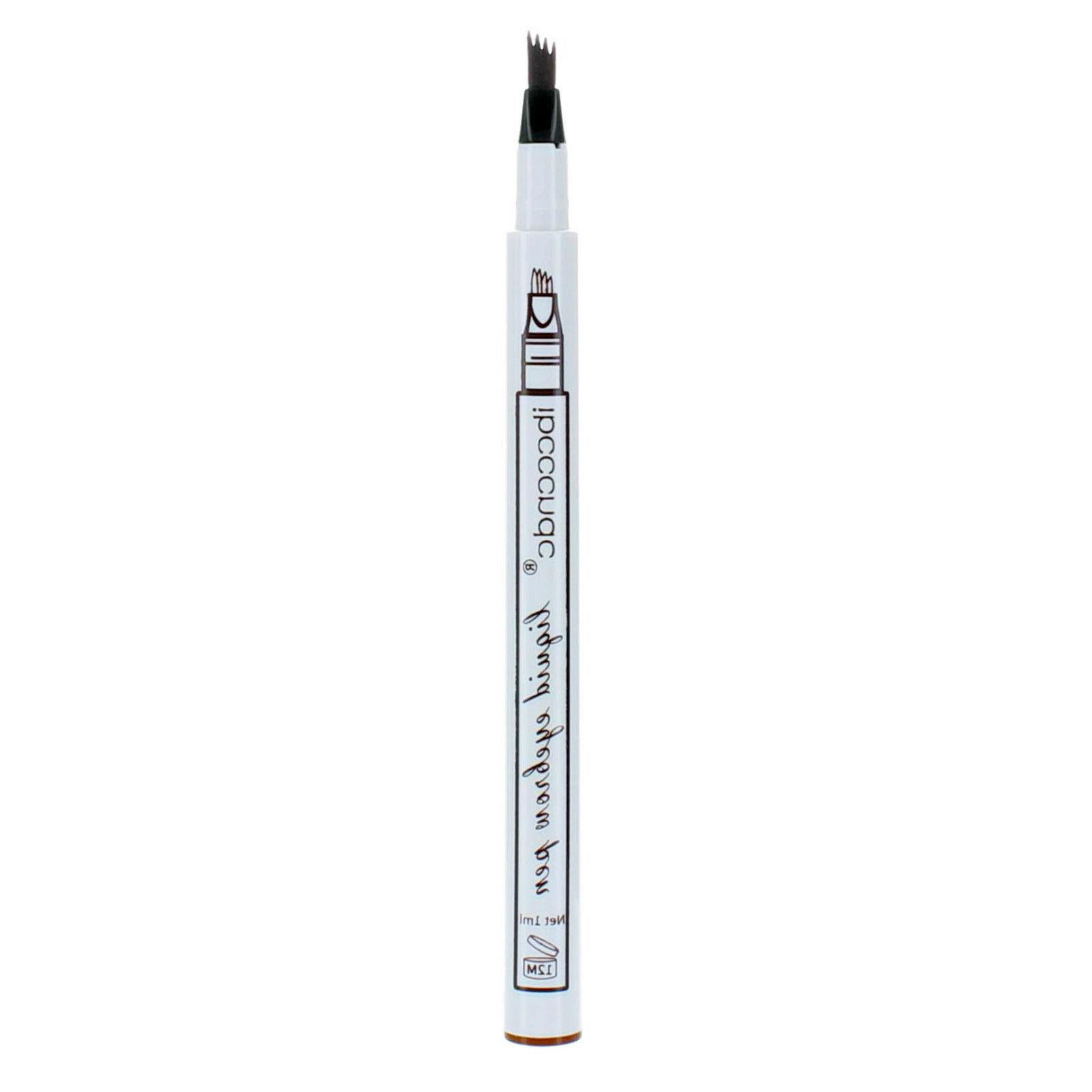 Microblading Fork 4 Tip Pen Eye Brow Pencil Color