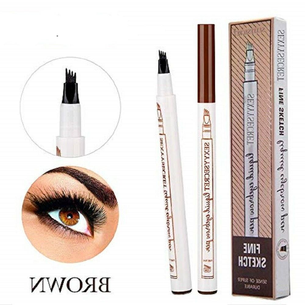Fork Tip Brow 3D 4 Colors