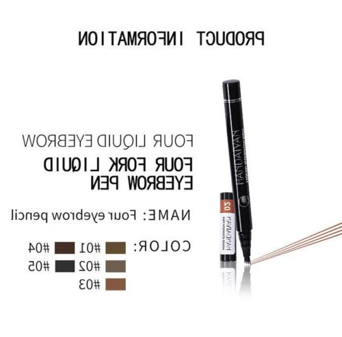 Microblading Pen Long Brow Fork Pencil