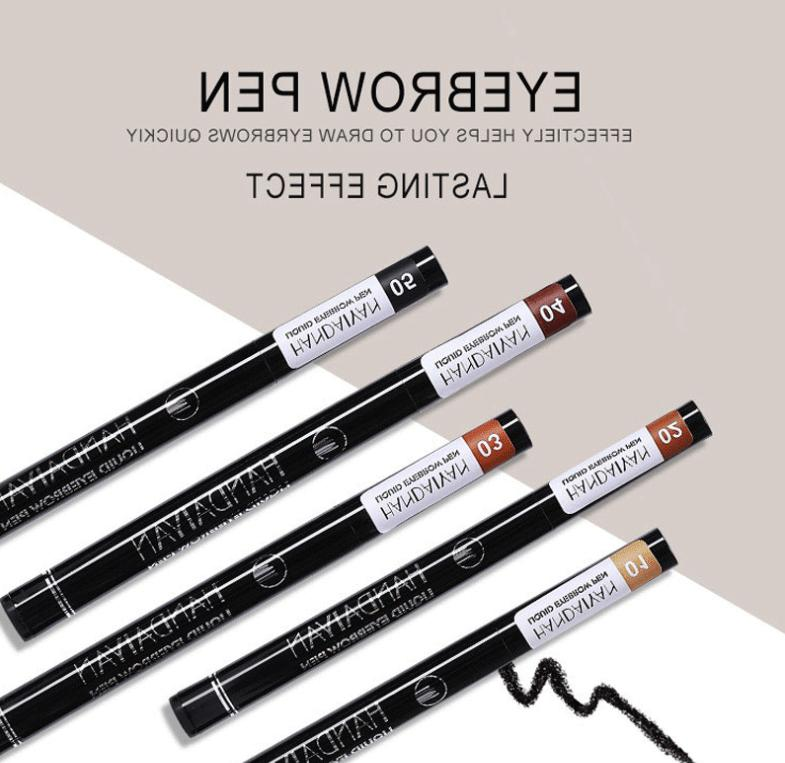 Microblading Tattoo Ink Pen Lasting Fork Waterproof Pencil Brow