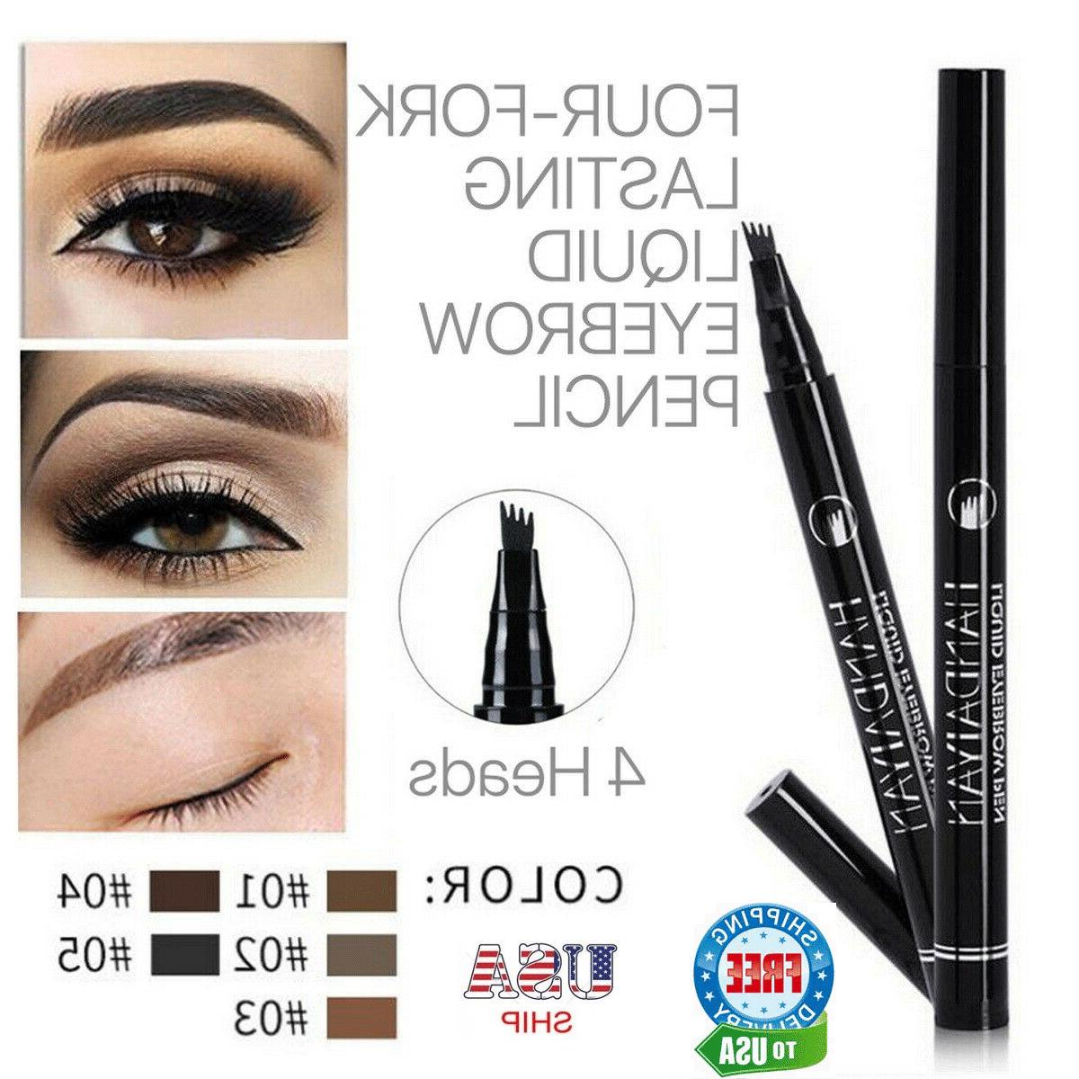 microblading tattoo eyebrow ink pen long lasting