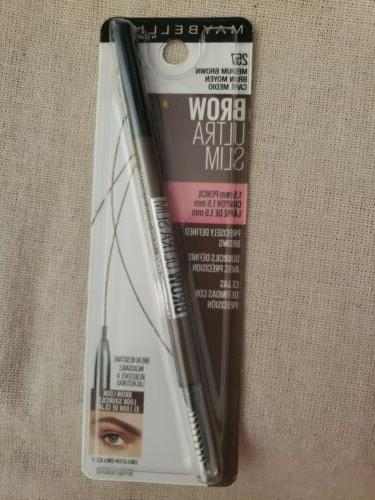 NEW Maybelline Brow Slim 257