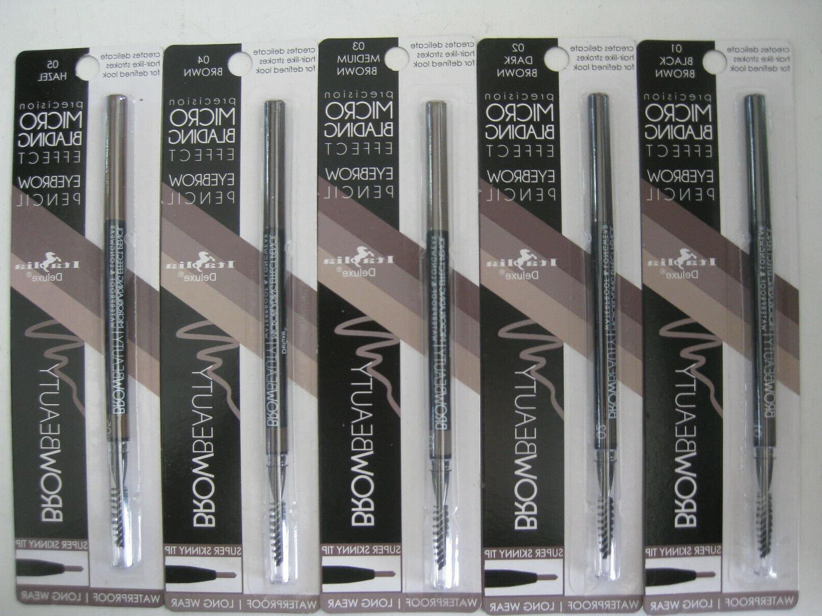 precision micro blading effect eyebrow pencil waterproof