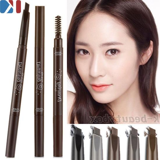 professional easy drawing eyebrow 6 color korean