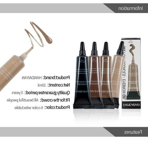 Professional Makeup Eyebrow Pencil Waterproof Lasting Eyebrow Cream Gel