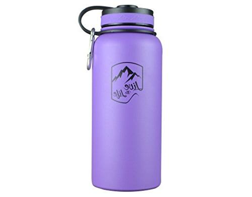 Stainless Steel Bottle - - Bottle - Vacuum Insulated Bottle Insulated