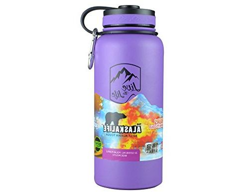 Stainless Bottle - Wide Mouth Bottle - Insulated Water Bottle - Double Vacuum Insulated - Bottle