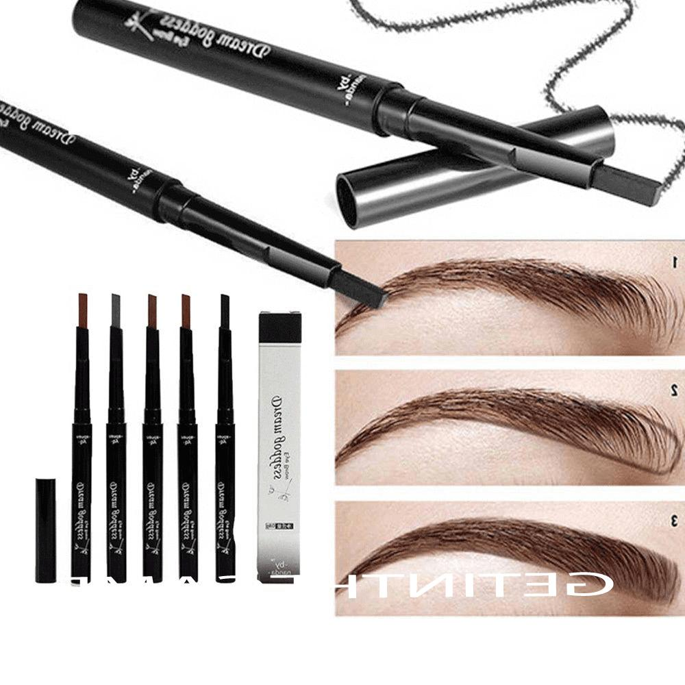 Waterproof Eye Brow Eyeliner Eyebrow Pen Pencil Makeup Cosme