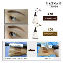HANZAN Liquid Eyebrow Pencil Dyeing Tinted Dual Brow Waterpr