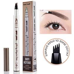 liquid eyebrow pencil with four tips brow