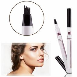 Micro 4 Comb Eyebrow Pencil Waterproof Fork tip Eyebrow Tatt