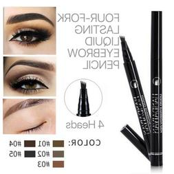 Microblading Eyebrow Pen Waterproof Fork Tip Tattoo Long Las