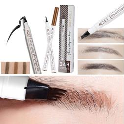 Microblading Makeup Eyebrow Tattoo Pen Fork Tip Eye Brow Pen