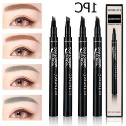 Microblading Tattoo Eyebrow Ink Pen Lasting Eye Brow 3D 4 Fo