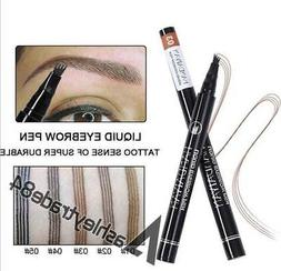 Microblading Tattoo Eyebrow Liquid Ink Pen Waterproof 4Fork