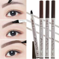 Microblading Tattoo Eyebrow Liquid Ink Pen Waterproof 4 Fork