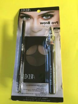Ardell Pro Brow Eyebrow Defining Kit includes Brow Brush, Po