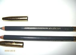 Revlon Eye Brow Pencil Waterproof Charcoal Grey Lot of 2