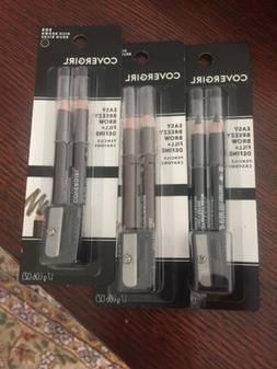 Covergirl Rich Brown Brow Fill and Define Pencils Eyebrow $3