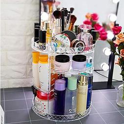 QSBY 360 Degree Rotating Makeup Organiser Cosmetic Perfumes