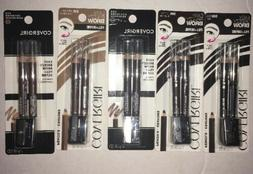 SET OF 5- CoverGirl Easy Breezy Fill+Define Eye Brow Pencils