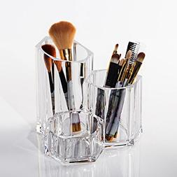 Rack shelf Transparent Makeup Brush Storage Box, Mascara Lip