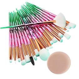 ❤️ Sunbona ❤️ Clearance MAANGE Makeup Brush 20PCS Ma