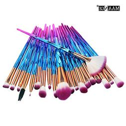❤️ Sunbona ❤️ MAANGE Makeup Brush 20PCS Make Up Foun