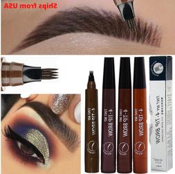 Liquid Eyebrow Pen Long Lasting Eye Brow 3D Fork Makeup Micr