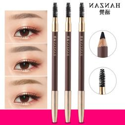 HANZAN Waterproof Double Eyebrow Pencil Three-Dimensional Na