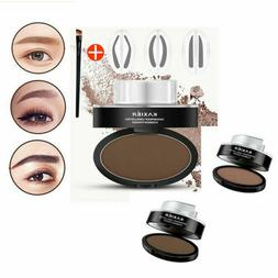 Waterproof Eyebrow Shadow Pencil Liner Powder Stamp Beauty C